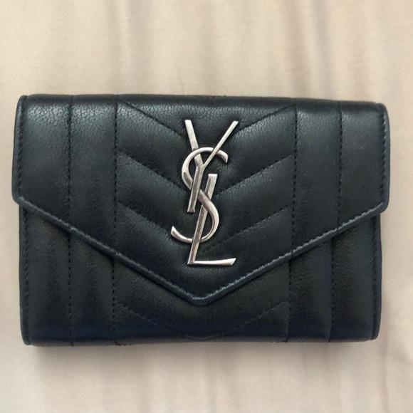 d92ccd37e1f Yves Saint Laurent Bags | Small Monogram Ysl Envelope Wallet | Poshmark